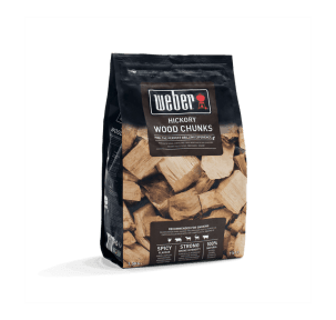 Weber hickory rökträ Smoking wood chunks - Hickory - 1.5Kg