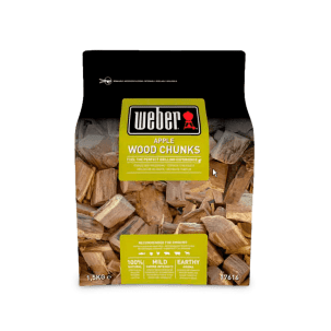 Weber Rökträ Äpple Smoking wood chunks - 1.5Kg