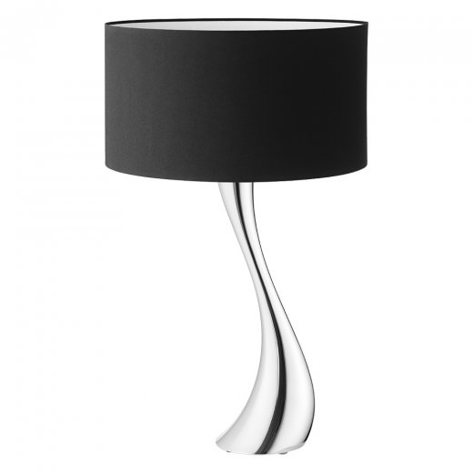 Georg Jensen Cobra Lampa Svart skärm Medium