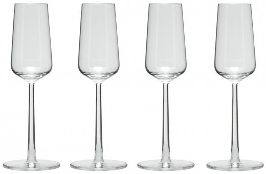 Ittala Essence Champagneglas 21cl 4-pack