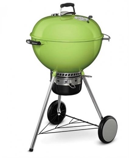 Weber Master-Touch GBS 57cm spring green, limegrön brikettgrill